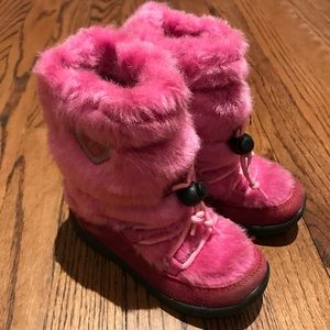 Naturino girls snow boots